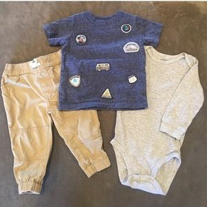 3 Piece Carter's Outfit